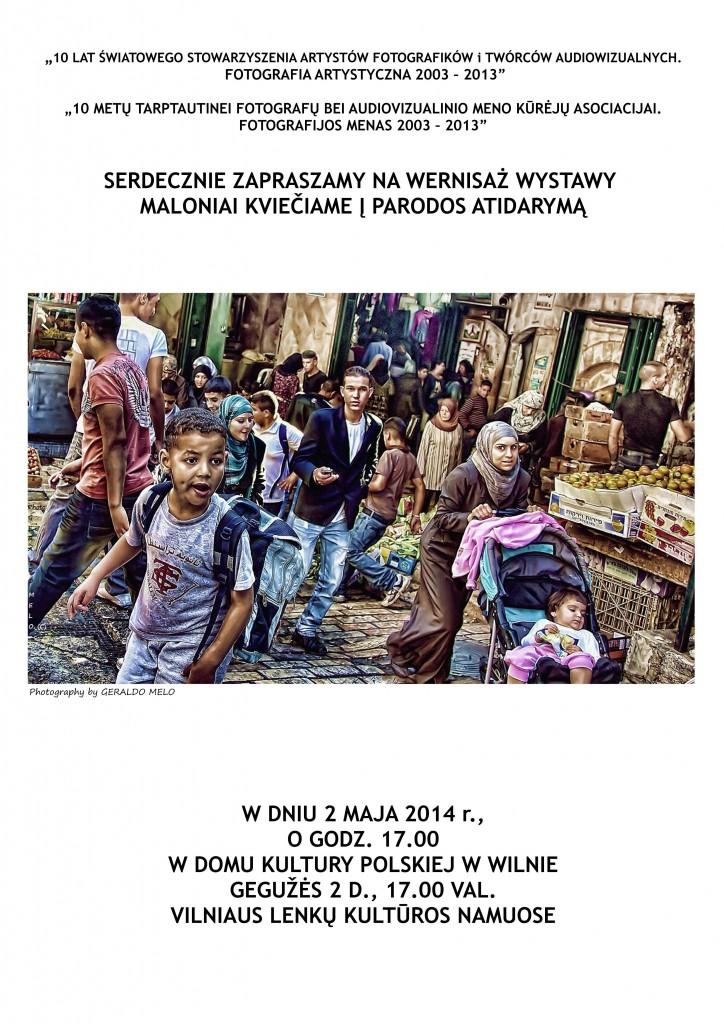1.WILNO-zaproszenie na wernisaż w dn.2.05.2014,jpg (2)